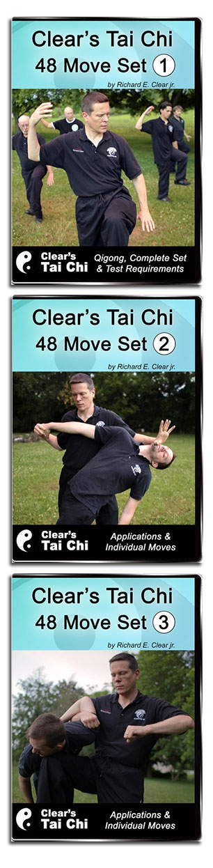 Learn the Clear's Tai Chi Intermediate form complete with Qigong & fighting applications